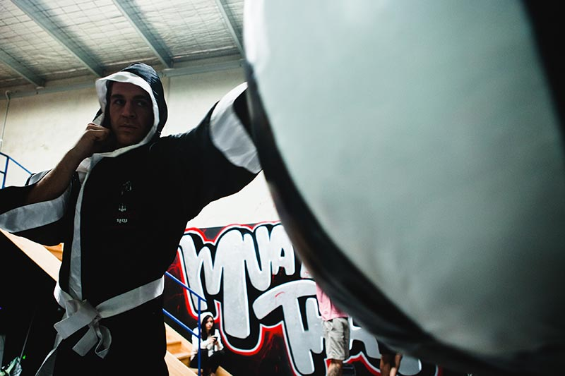 how to prepare for muay thai training