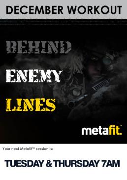 Metafit Behind-Enemy Lines