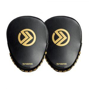 Sabre-focus-mitt-black Gold-pair