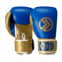 Vero Boxing Glove-Boxing Gloves-Onward-BLUE/GOLD-12OZ-Onward